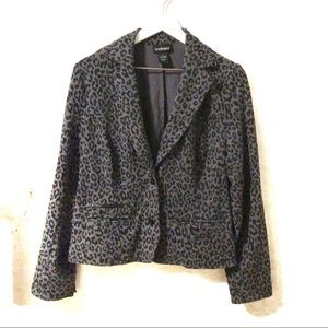Lane Bryant leopard print blazer | 14